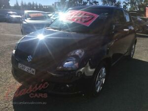 2010 Suzuki Swift EZ 07 Update Sport Black 5 Speed Manual Hatchback Lansvale Liverpool Area Preview
