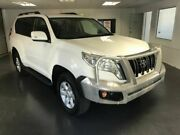 2015 Toyota Landcruiser Prado KDJ150R MY14 GXL (4x4) White 5 Speed Sequential Auto Wagon North Toowoomba Toowoomba City Preview