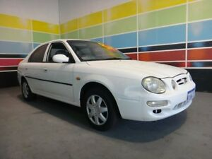 1999 Kia Mentor SLX White 4 Speed Automatic Hatchback Wangara Wanneroo Area Preview