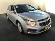 2015 Holden Cruze JH MY15 Equipe Silver 6 Speed Automatic Hatchback Clemton Park Canterbury Area Preview