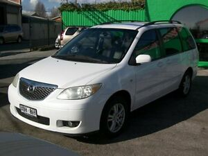 2004 Mazda MPV 04-07seris 7 seater luxury Pearl White 5 Speed Automatic Nailsworth Prospect Area Preview