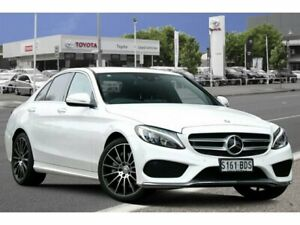 2014 Mercedes-Benz C250 W205 7G-Tronic + White 7 Speed Sports Automatic Sedan Adelaide CBD Adelaide City Preview