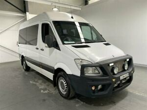 2012 Mercedes-Benz Sprinter MWB NCV3 White Automatic Beresfield Newcastle Area Preview
