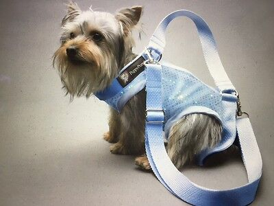 Baby Blue Stretchy pet small dog carrier harness sling puppy purse L, XXL