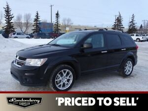 2014 Dodge Journey AWD RT 7 PASSENGER Accident Free,  Navigation