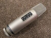 Rode NT2-A multi-pattern microphone, excellent condition