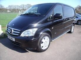MERCEDES VITO 116 CDI Black Manual Diesel, 2012