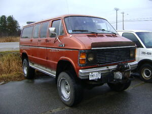 """REDUCED $7,500.RARE ONE OF A KIND MONSTER VAN  @ Powassan, Ont."