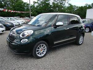 2014 FIAT 500L Lounge Leather Moonroof Loaded