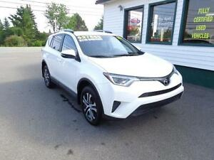 2017 Toyota RAV4 LE AWD for only $219 bi-weekly all in!