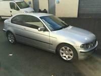 BMW 316ti full year mot, low milage