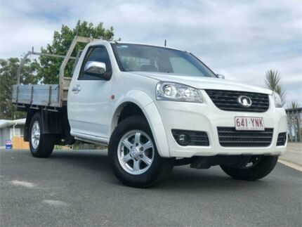 2013 Great Wall V240 K2 MY13 4x2 White 5 Speed Manual Cab Chassis Chevallum Maroochydore Area Preview