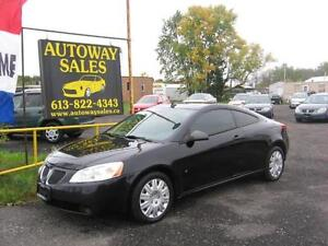 2007 Pontiac G6  GT  Coupe ** LEATHER **
