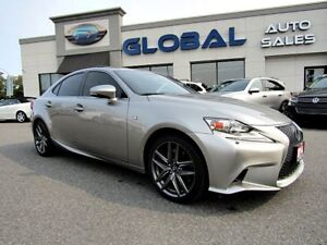 2014 Lexus IS 350  AWD F-SPORT 2  FULLY EQUIPPED