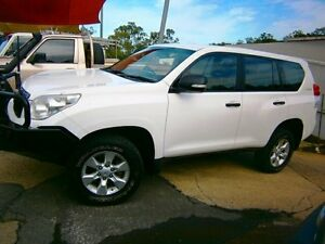 2010 Toyota Landcruiser Prado GX Turbo Diesel White 5sp A Wagon