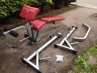 BH FITNESS OPTIMA PRESS weight bench