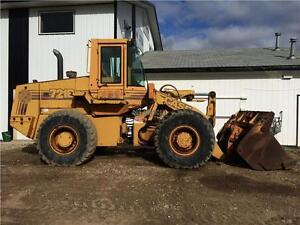 1993 CASE 721B WHEEL LOADER, PAYLOADER