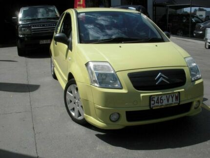 2004 Citroen C2 VTR Yellow 5 Speed Auto Active Sequential Hatchback Southport Gold Coast City Preview