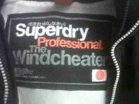 Superdry coat black large