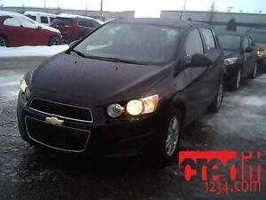 2012 Chevrolet Sonic LS, À PARTIR DE 46$/SEM. 100% APPROUVÉ