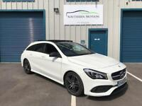 2016/66 ***SOLD*** Mercedes CLA 220 2.1d (177ps)Shooting Brake 7G-DCT 2017MY AMG