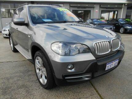 2008 BMW X5 E70 3.0SD Grey 6 Speed Auto Steptronic Wagon St James Victoria Park Area Preview