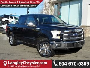 2016 Ford F-150 Lariat *LOCAL BC CAR* LOW KMS*DEALER INSPECTED*