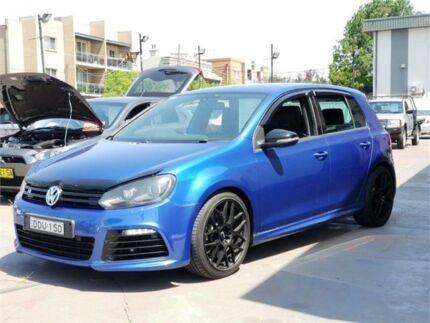 2010 Volkswagen Golf 1K MY10 R Blue 6 Speed Direct Shift Hatchback Burwood Burwood Area Preview