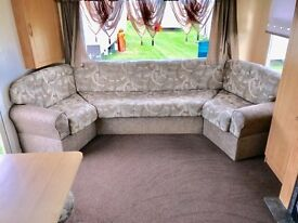 CHEAP 3 BEDROOM CARAVAN FOR SALE, 2017 FEES INCLUDED, SEA VIEW, 12 MONTH SEASON & CHEAP FEES!!