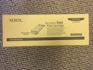 Brand new Xerox Phaser 6180 Cyan cartridge