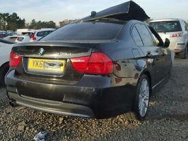 BMW 3 Series Passenger Mirror 2010 Black