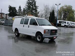 2002 GMC SAVANA 3500 CARGO 1 TON **ONLY 73,000KM**