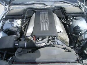 BMW 540i 4DR E39 ENGINE - ASSEMBLY Long Block V11512