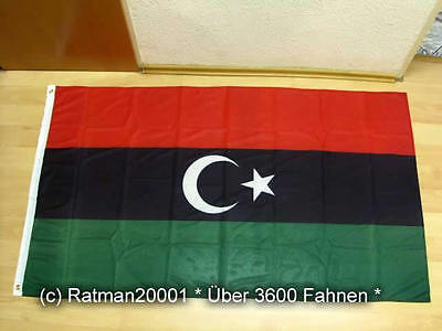 Fahnen Flagge Königreich Libyen - Premium NEU - 90 x 150 cm