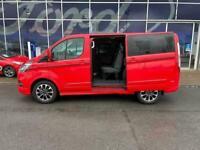 2021 Ford Transit Custom 2.0 Ecoblue 185Ps Low Roof D/Cab Sport Van Crew Bus Die