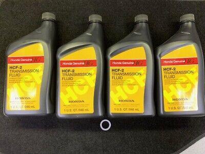4 QUARTS GENUINE HONDA HCF2 TRANSMISSION FLUID 08200-HCF2
