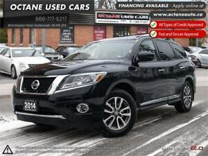 2014 Nissan Pathfinder SL 4WD! Accident Free! NAVI! Backup Cam!