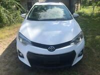 2015 Toyota Corolla S,PW,PL,AC,SUNROOF,ALLOY,AUX,CERTIFIED