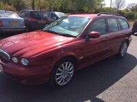Jaguar X-type S (red) 2007