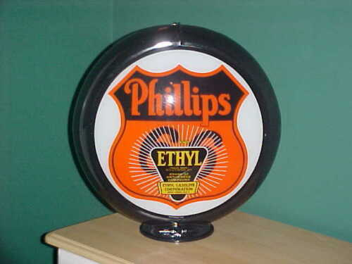 PHILLIPS 66  ETHYL  GAS PUMP GLOBE