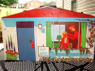 1965 Vintage Barbie & Skipper Deluxe House