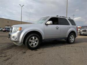 2012 Ford Escape 4WD Limited **Leather & Sunroof**