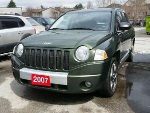 2007 Jeep Compass Limited-4 CYLINDER, 4X4