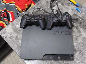PS3 For Sale With 2 Controllers