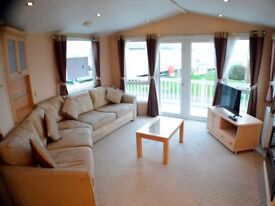 Luxury Caravan at Southerness Ayrshire Dumfries Saltcoats Ardrossan Scotland