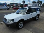 2005 Subaru Forester 79V MY05 X AWD White 5 Speed Manual Wagon Fyshwick South Canberra Preview