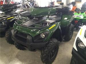 2016 Kawasaki Brute Force 750 with 4yrs Warranty free