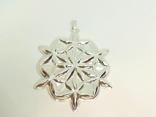 Waterford Sterling Silver Ornament 2006 LISMORE SNOWFLAKE  M118