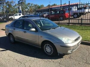 2002 Ford Focus LR Ghia 4 Speed Automatic Sedan Sandgate Newcastle Area Preview
