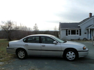 03 impala.  Drives works good.  Inspected for 19 months